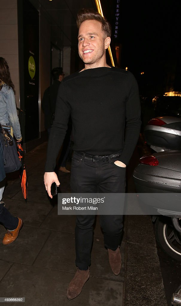 Olly Murs attending the 'Storm In A C Cup' By Caroline Flack Book Launch Party on October 21, 2015 in London, England.