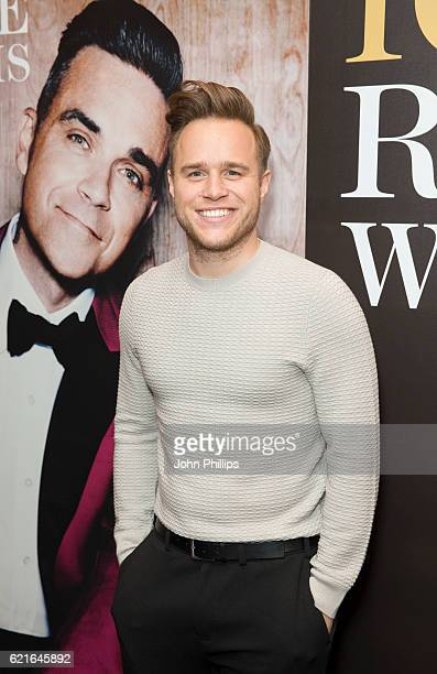 Olly Murs attends Robbie Williams BRITs Icon show at the Troxy on November 7 2016 in London England