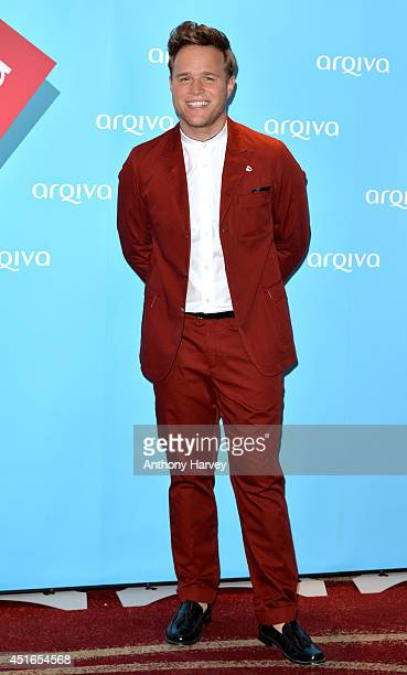 Olly Murs attends the Arqiva Commercial Radio Awards at Westminster Bridge Park Plaza Hotel on July 3 2014 in London England