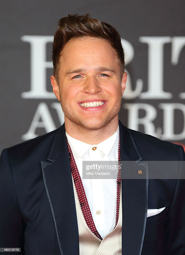Olly Murs attends the Brit Awards at 02 Arena on February 20, 2013 in London, England.