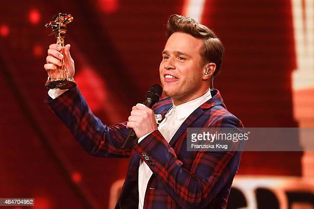 Olly Murs attends the Goldene Kamera 2015 show on February 27 2015 in Hamburg Germany