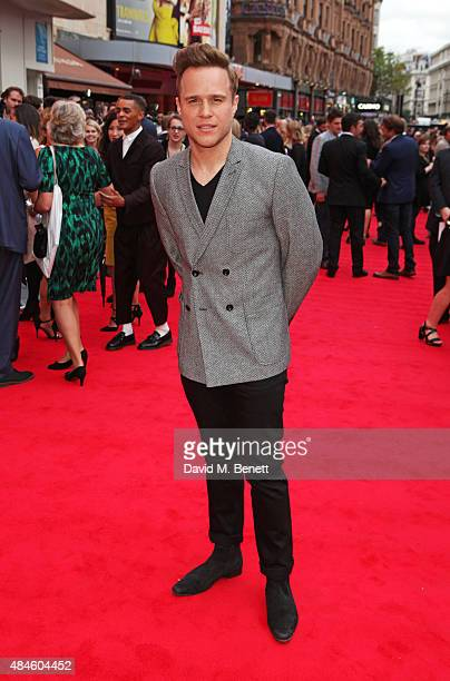 Olly Murs attends the World Premiere of 'The Bad Education Movie' at Vue West End on August 20 2015 in London England