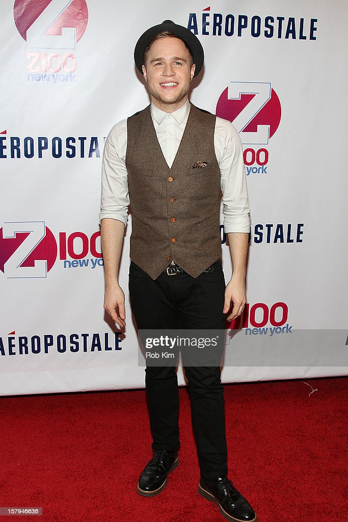 <a gi-track='captionPersonalityLinkClicked' href=/galleries/search?phrase=Olly+Murs&family=editorial&specificpeople=6350751 ng-click='$event.stopPropagation()'>Olly Murs</a> attends Z100's Jingle Ball 2012 presented by Aeropostale at Madison Square Garden on December 7, 2012 in New York City.