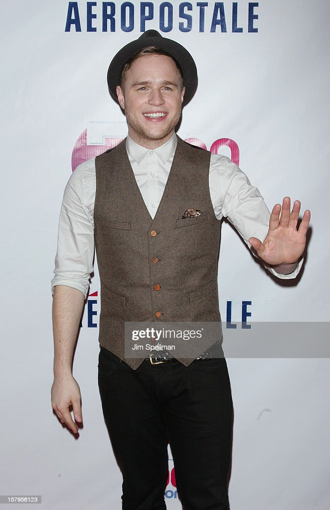 Olly Murs attends Z100's Jingle Ball 2012, presented by Aeropostale, at Madison Square Garden on December 7, 2012 in New York City.