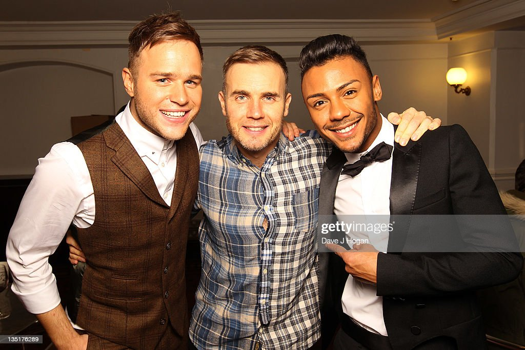 Gary Barlow Performs At The Royal Albert Hall For The Princes Trust - Backstage