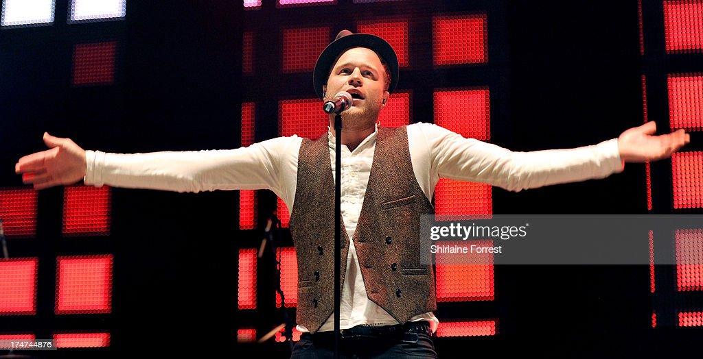 Olly Murs performs at Key 103 Live at Manchester Arena on July 28, 2013 in Manchester, England.