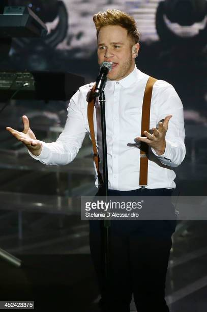 Olly Murs performs at 'X Factor 2013 Il Live' on November 28 2013 in Milan Italy