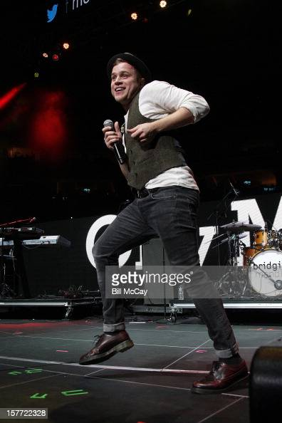 Olly Murs performs onstage during Q102's Jingle Ball 2012 presented by XFINITY at Wells Fargo Center on December 5 2012 in Philadelphia