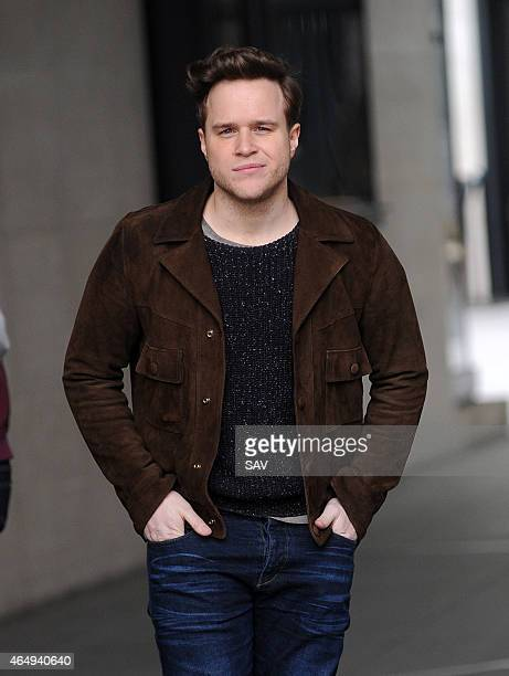 Olly Murs sighting at BBC Radio 1 on March 2 2015 in London England