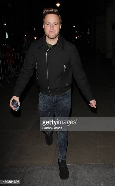 Olly Murs sighting at the BBC on December 3 2014 in London England