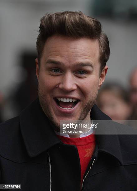 Olly Murs sighting at the BBC radio one studios on December 1 2014 in London England