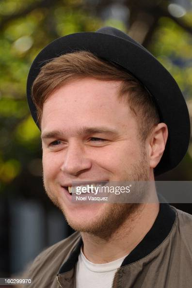 Olly Murs visits Extra at The Grove on January 28 2013 in Los Angeles California