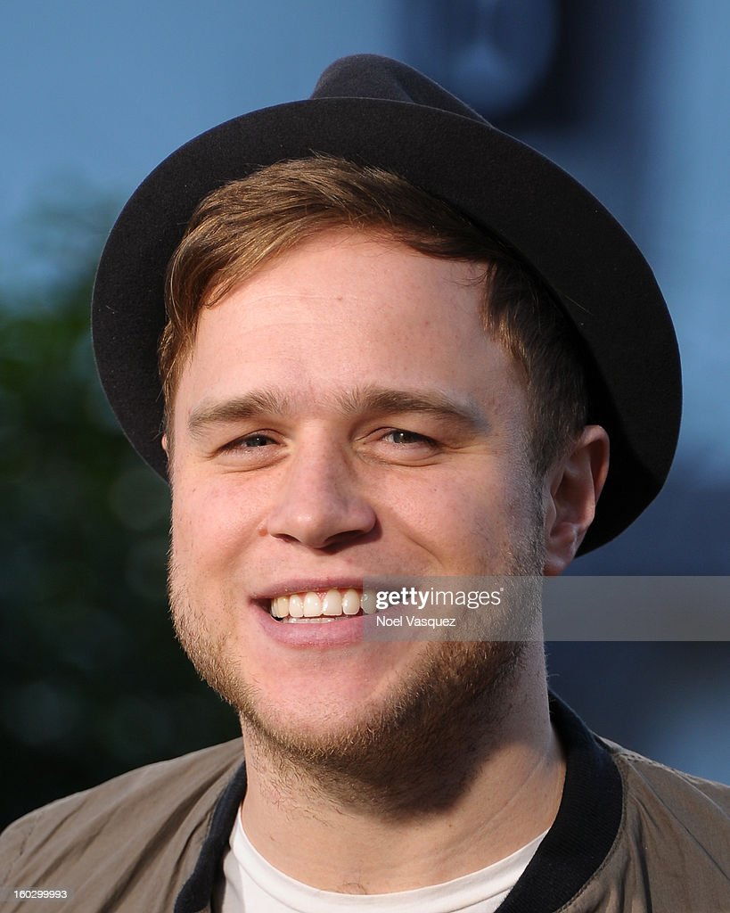 Olly Murs visits Extra at The Grove on January 28, 2013 in Los Angeles, California.