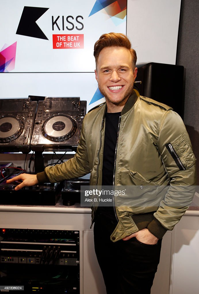 Olly Murs Visits Kiss FM