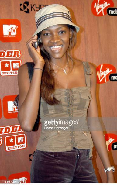 Oluchi during MTV Launches the New Virgin Mobile Slider V5 MTV Edition Wireless Phone at Avalon in New York City New York United States