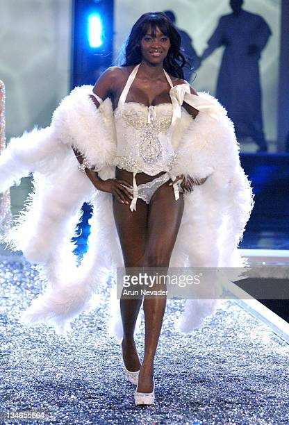 Oluchi Onweagba during 11th Victoria's Secret Fashion Show Runway at Kodak Theatre in Hollywood California United States