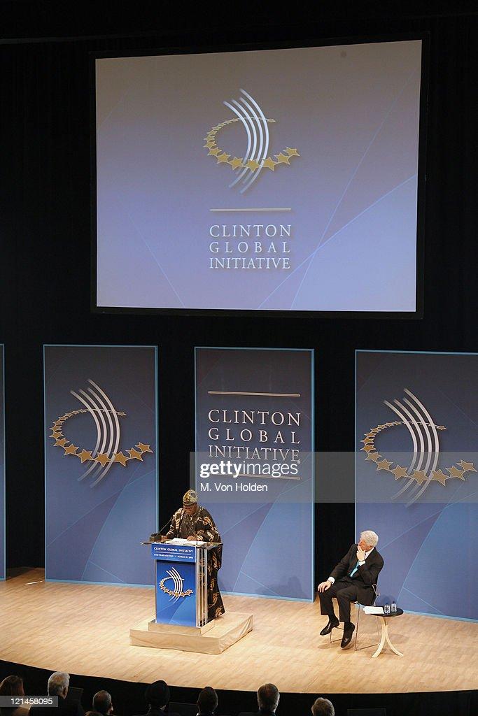Olusegun Obasanjo, Nigerian President and Bill Clinton