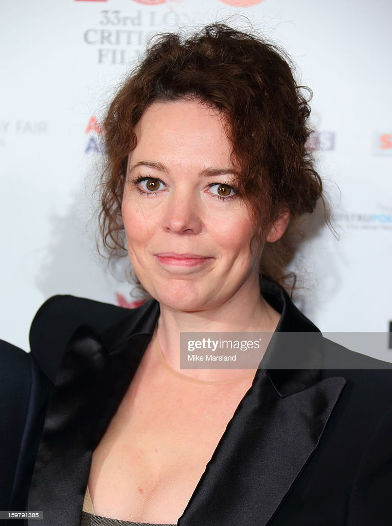 Olvia Colman attends the London Film Critics Circle Film Awards at The Mayfair Hotel on January 20, 2013 in London, England.