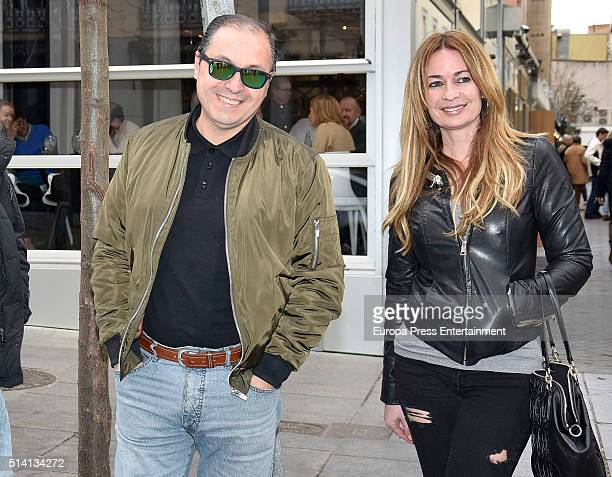 Olvido Hormigos and Jesus Atahonero are seen on March 4 2016 in Madrid Spain