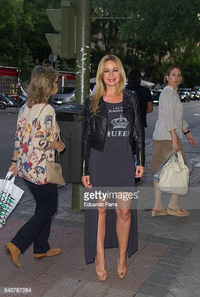 Olvido Hormigos attends the 'Smylife Collection Beauty Art' photocall at Smylife clinic on June 16 2016 in Madrid Spain