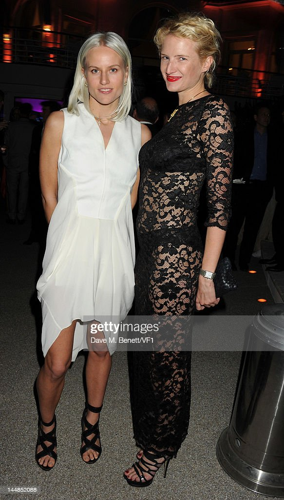 Olympia Scarey and Camilla Al Fayed attends the Vanity Fair And Gucci Party during the 65th Annual Cannes Film Festival at Hotel Du Cap on May 19, 2012 in Antibes, France.