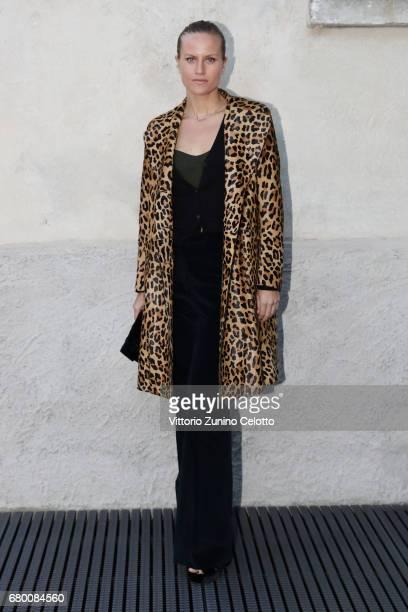 Olympia Scarry attends a 'Private view of 'TV 70 Francesco Vezzoli Guarda La Rai' at Fondazione Prada on May 7 2017 in Milan Italy