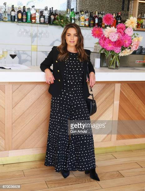 Olympia Valance attends the Botanicals Fresh Care Ambassador Launch on April 19 2017 in Sydney Australia