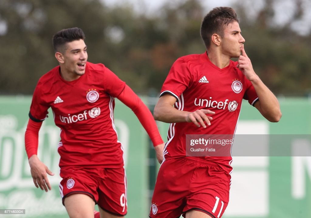 Sporting CP v Olympiakos Piraeus - UEFA Youth Champions League