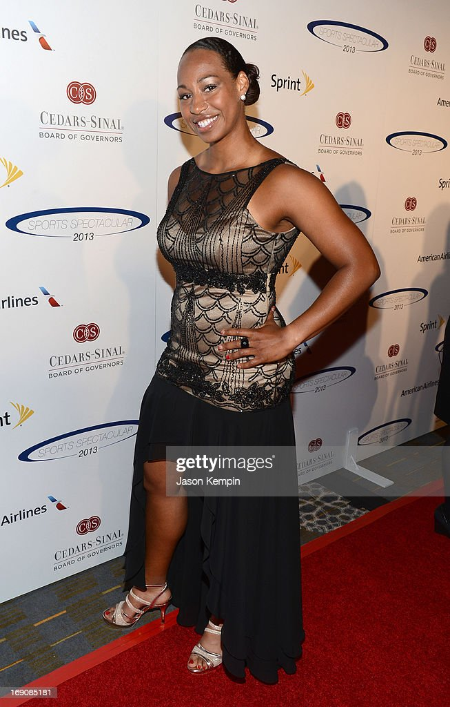 Olympian bobsled pilot Jazmine Fenlator attends the 28th Anniversary Sports Spectacular Gala at the Hyatt Regency Century Plaza on May 19, 2013 in Century City, California.