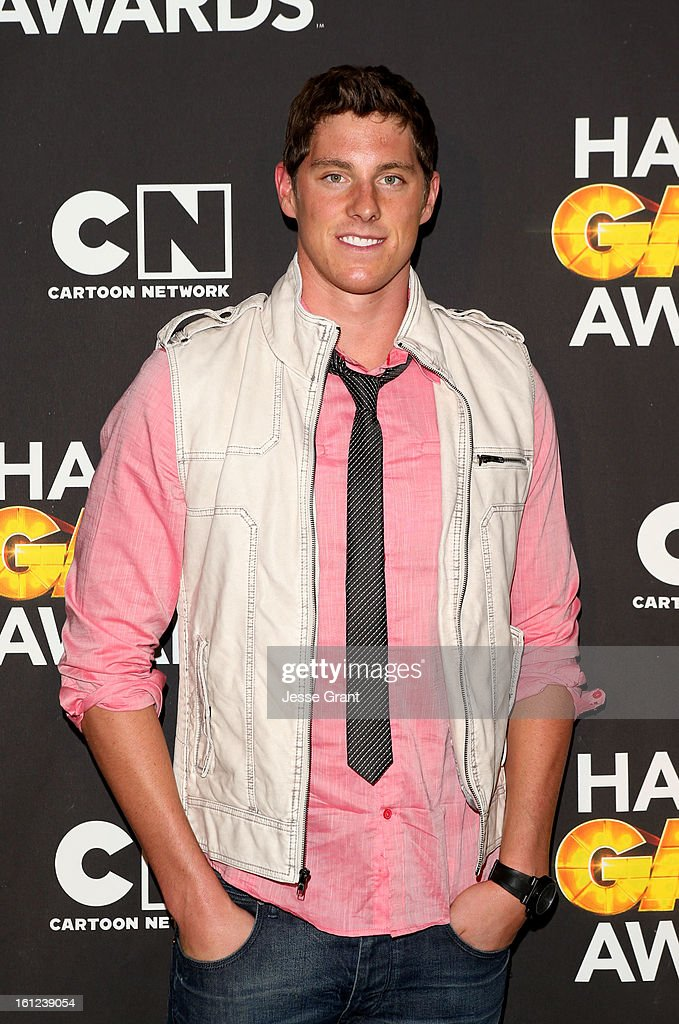 Olympian <a gi-track='captionPersonalityLinkClicked' href=/galleries/search?phrase=Conor+Dwyer&family=editorial&specificpeople=7988001 ng-click='$event.stopPropagation()'>Conor Dwyer</a> attends the Third Annual Hall of Game Awards hosted by Cartoon Network at Barker Hangar on February 9, 2013 in Santa Monica, California. 23270_004_JG_0342.JPG
