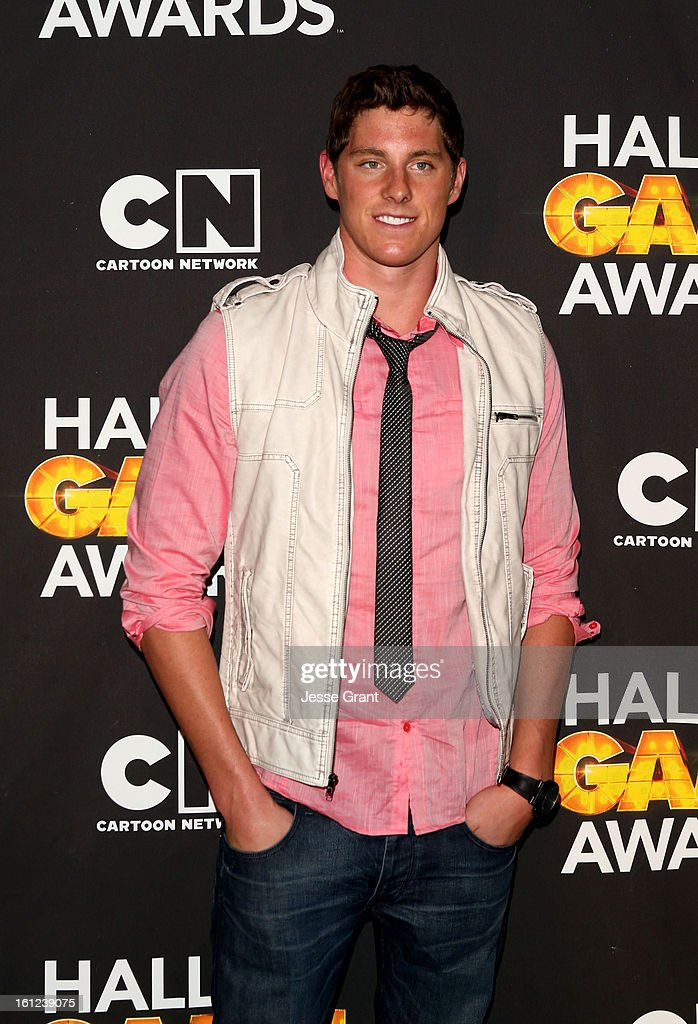 Olympian Conor Dwyer attends the Third Annual Hall of Game Awards hosted by Cartoon Network at Barker Hangar on February 9, 2013 in Santa Monica, California. 23270_004_JG_0344.JPG