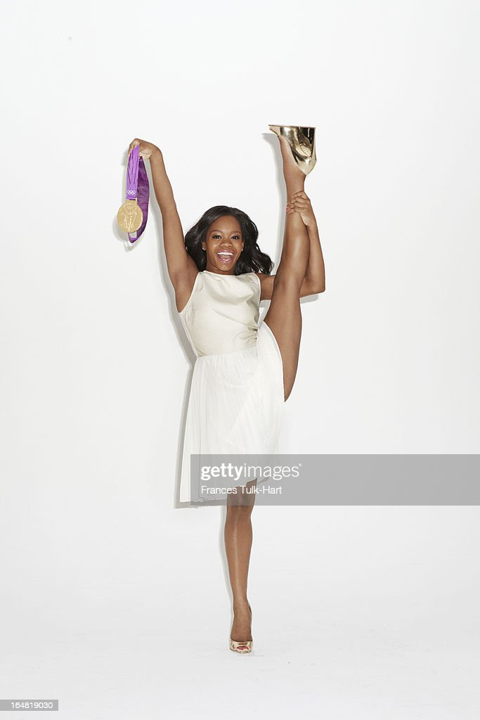 Olympian Gabby Douglas is photographed for Glamour Magazine on September 17, 2012 in New York City.