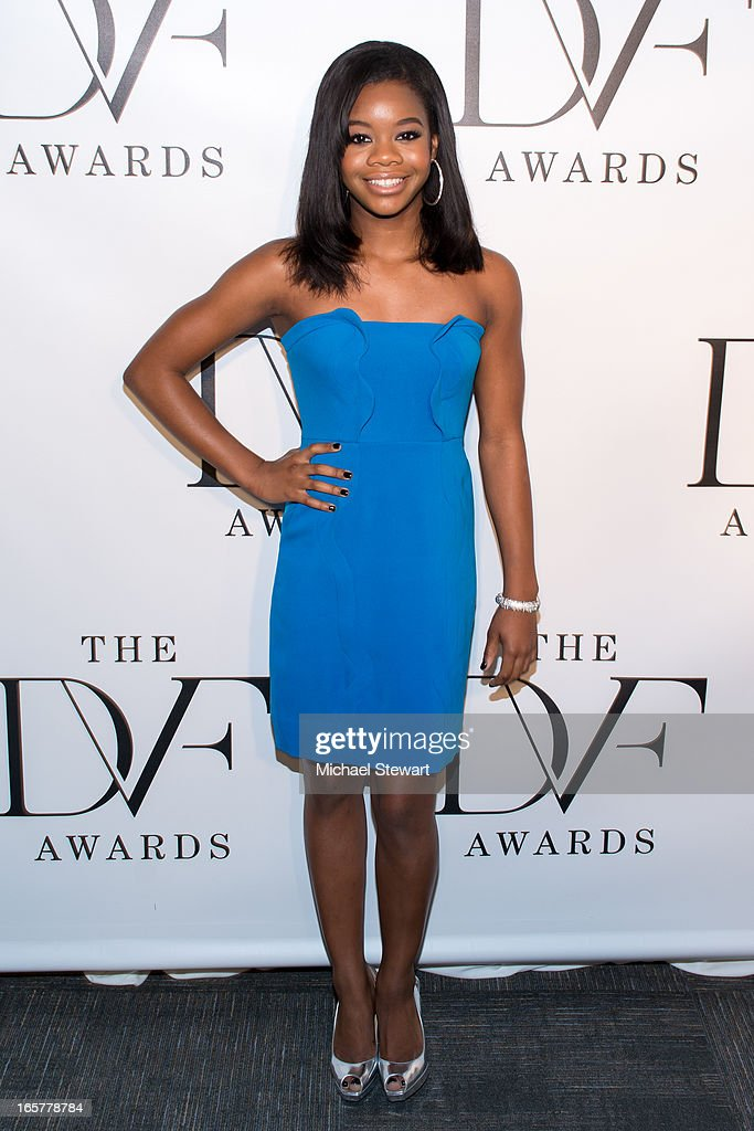 US Olympian Gabrielle Douglas attends the 2013 DVF Awards at the United Nations on April 5, 2013 in New York City.