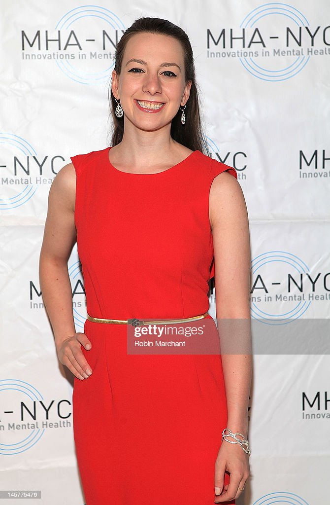 Olympian gold medalist ice-skater Sarah Hughes attends Bridges To Mental Health: A Celebration Of Hope Gala at Cipriani 42nd Street on June 5, 2012 in New York City.