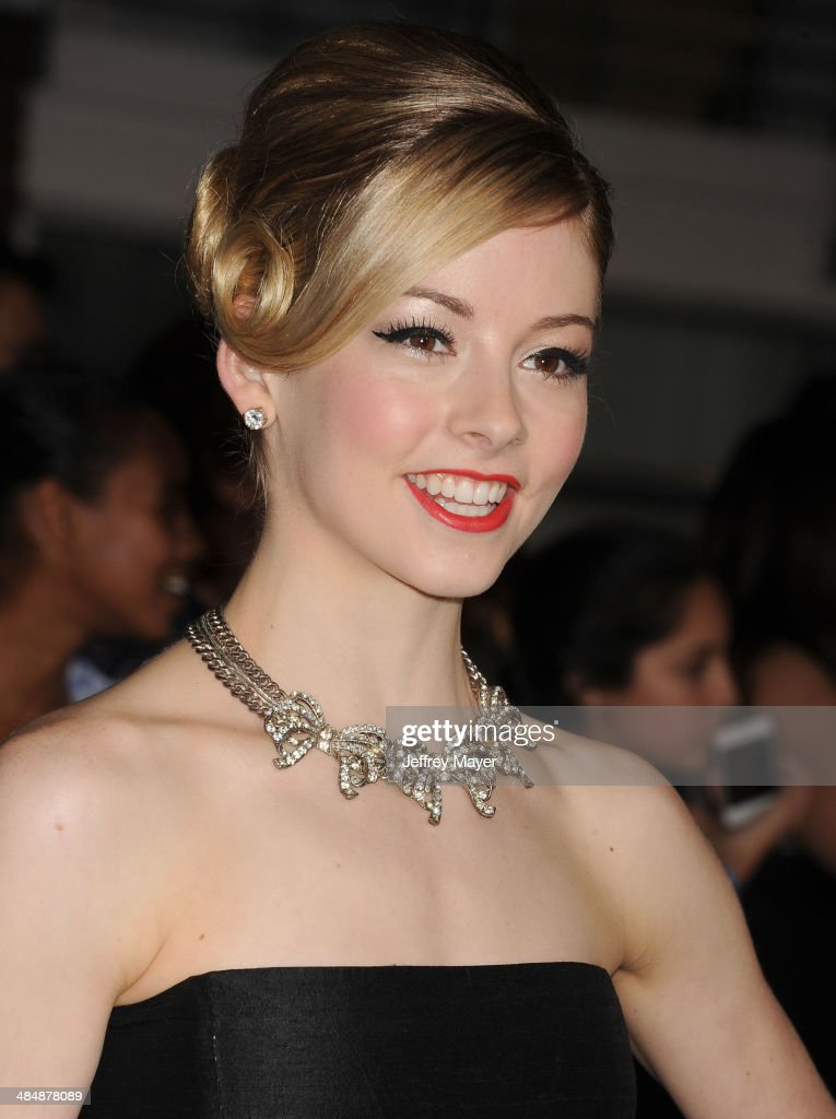Olympian <a gi-track='captionPersonalityLinkClicked' href=/galleries/search?phrase=Gracie+Gold&family=editorial&specificpeople=9153874 ng-click='$event.stopPropagation()'>Gracie Gold</a> arrives at the Los Angeles premiere of 'Divergent' at Regency Bruin Theatre on March 18, 2014 in Los Angeles, California.