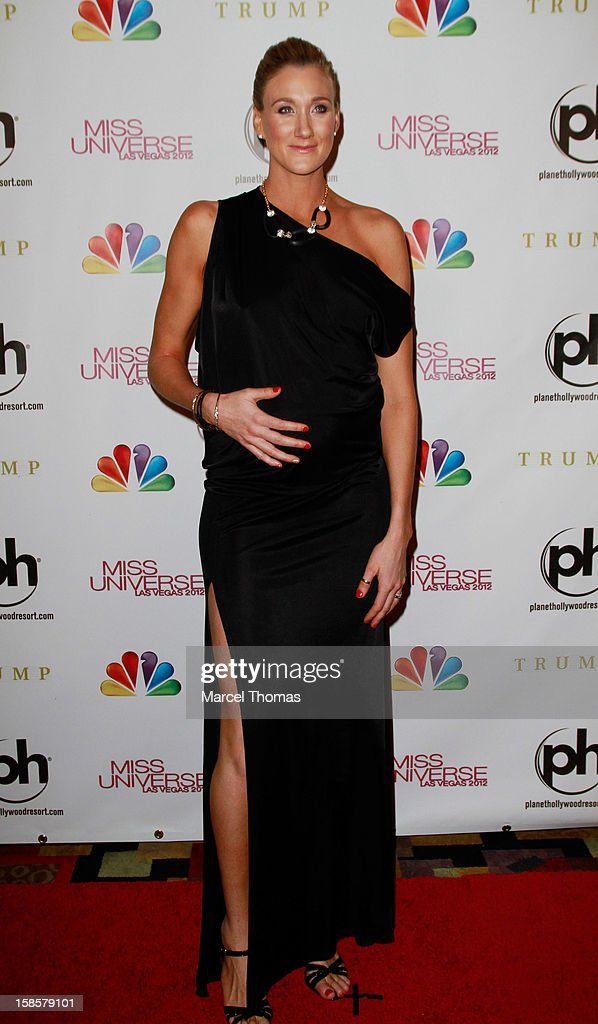 Olympian Kerri Walsh Jennings arrives at the 2012 Miss Universe Pageant at Planet Hollywood Resort & Casino on December 19, 2012 in Las Vegas, Nevada.