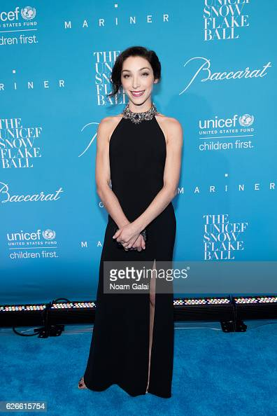 Olympian Meryl Davis attends the 12th Annual UNICEF Snowflake Ball at Cipriani Wall Street on November 29 2016 in New York City