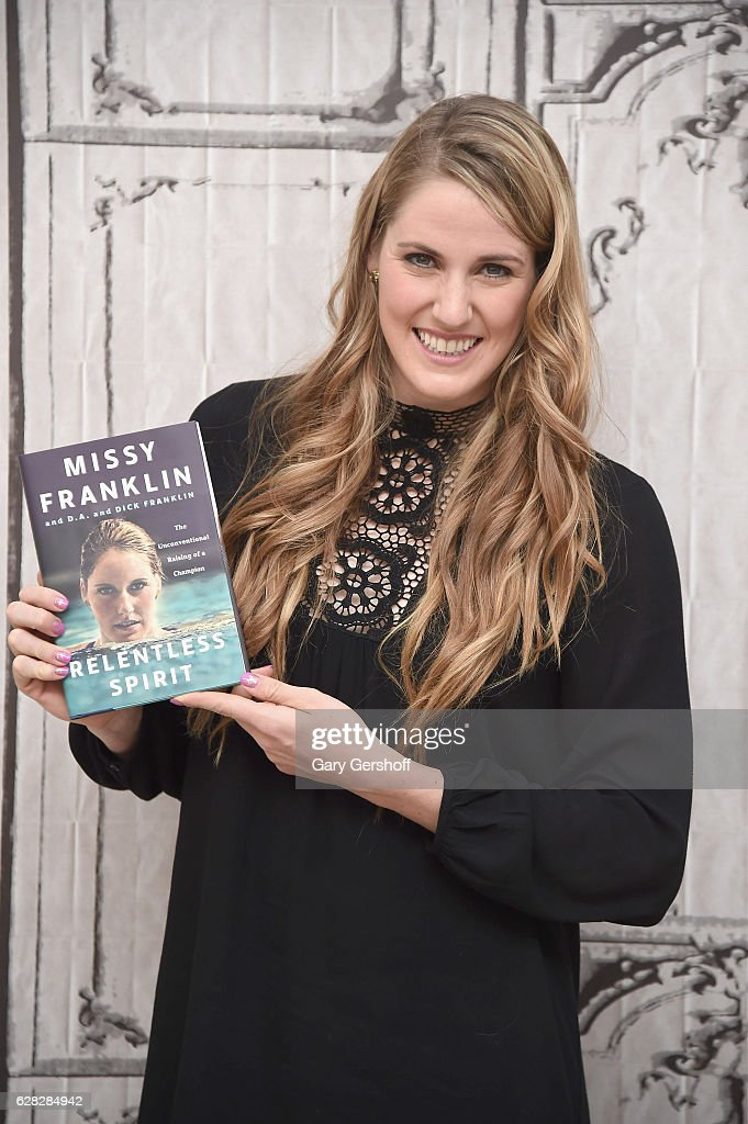 Olympian Missy Franklin attends the Build Series to discuss her new memoir 'Relentless Spirit' at AOL HQ on December 7, 2016 in New York City.