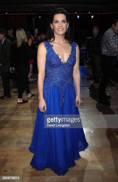 Olympian Nancy Kerrigan attends 'Dancing with the Stars' Season 24 premiere at CBS Televison City on March 20 2017 in Los Angeles California