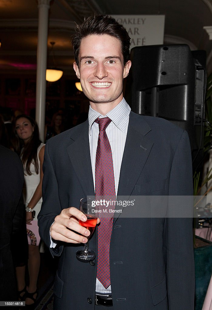 Olympian Peter Wilson arrives at The Inspiration Awards For Women 2012 at Cadogan Hall on October 3, 2012 in London, England.