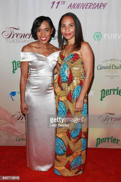 Olympian Shevon Nieto and fashion designer Tito attend the 7th Annual Celebration of Life And Paying It Forward at Le Jardin on August 29 2017 in...