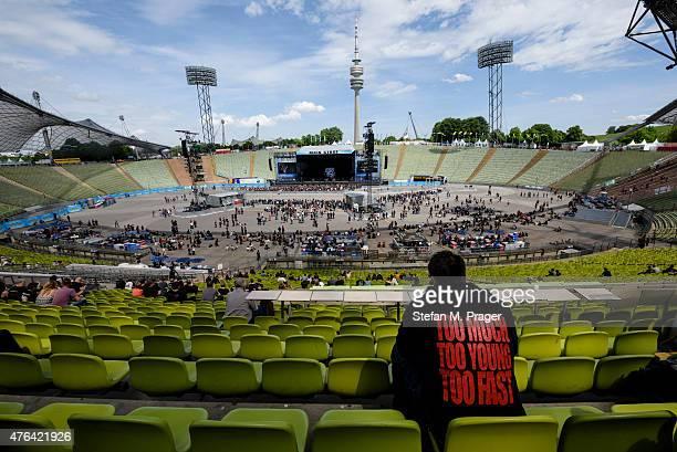 ROCKAVARIA Olympiastadion at Olympiapark on May 29 2015 in Munich Germany