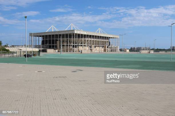 Olympic Aquatic Stadium is being dismantled but works are delayed The pool used during competitions will be installed in another region of the city...