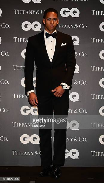 Olympic athlete Aska Cambridge attends the GQ Men Of The Year 2016 at the Tokyo American Club on November 21 2016 in Tokyo Japan