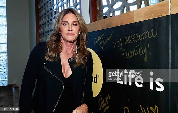 Olympic athlete Caitlyn Jenner attends Life is Good at GOLD MEETS GOLDEN Event at Equinox on January 7 2017 in Los Angeles California