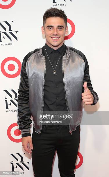 Olympic athlete Chris Mears attends Target IMG New York Fashion Week KickOff Event at The Park at Moynihan Station on Tuesday September 6 2016 in New...