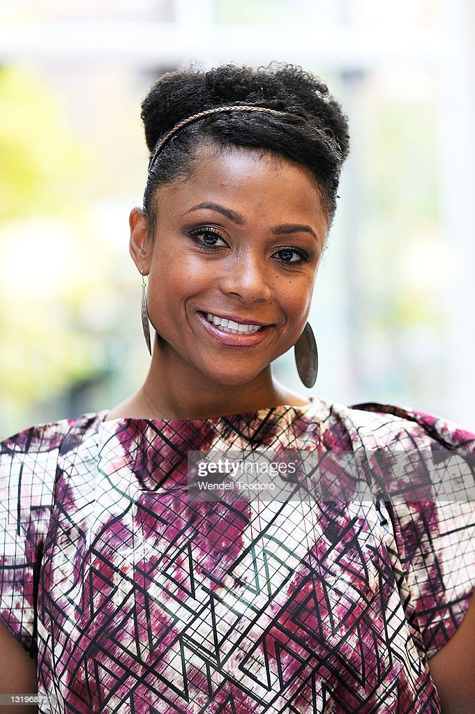 Olympic Athlete Dominique Dawes attends the free diabetes testing at the Bellevue Hospital Center Atrium on November 9, 2011 in New York City.