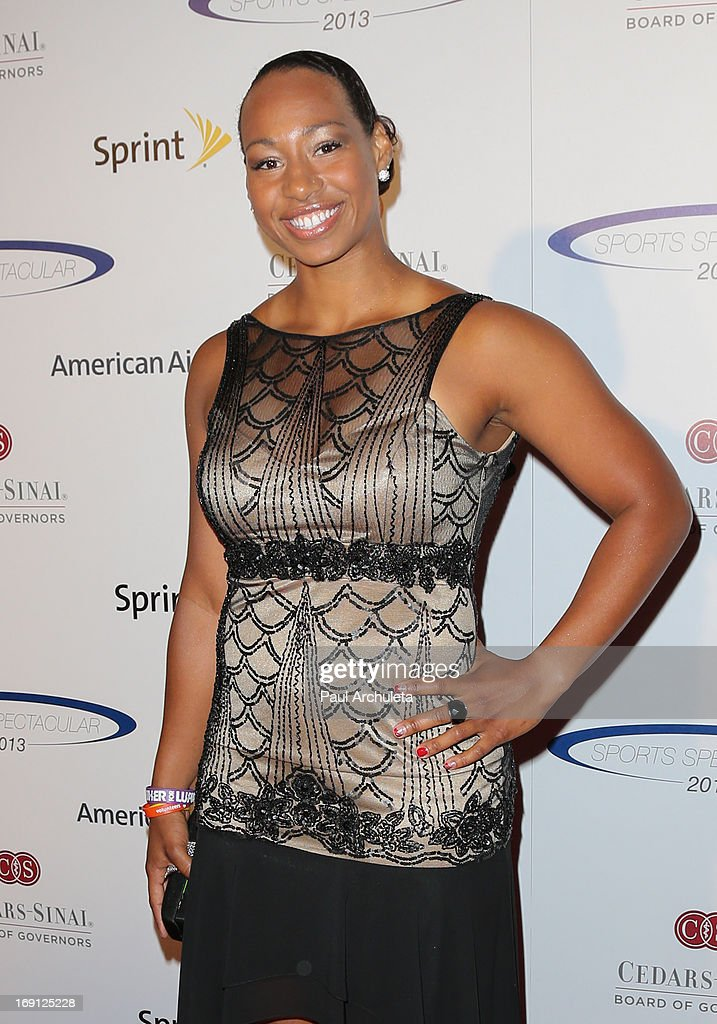 Olympic Athlete Jazmine Fenlator attends the 28th Annual Sports Spectacular Anniversary Gala at the Hyatt Regency Century Plaza on May 19, 2013 in Century City, California.