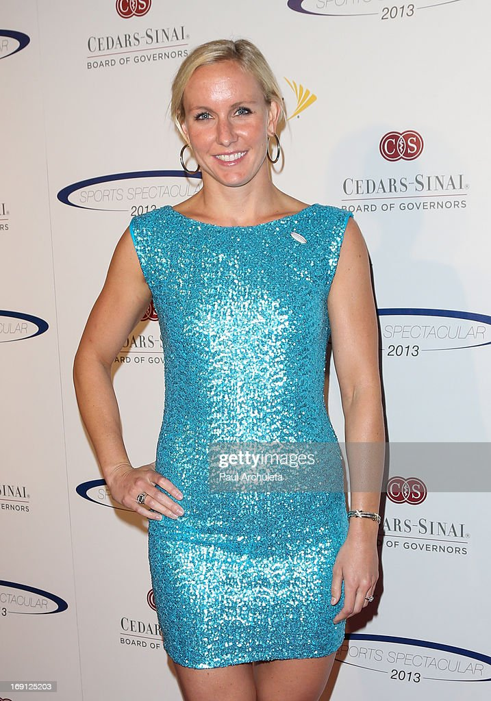 Olympic Athlete <a gi-track='captionPersonalityLinkClicked' href=/galleries/search?phrase=Jessica+Hardy&family=editorial&specificpeople=540355 ng-click='$event.stopPropagation()'>Jessica Hardy</a> attends the 28th Annual Sports Spectacular Anniversary Gala at the Hyatt Regency Century Plaza on May 19, 2013 in Century City, California.