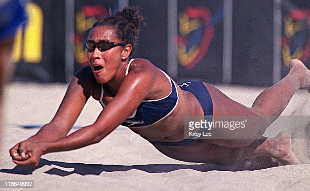 Olympic Beach Volleyball hopeful Jenny JohnsonJordan is the daughter of Rafer Johnson the 1960 Olympic Decathlon gold medalist